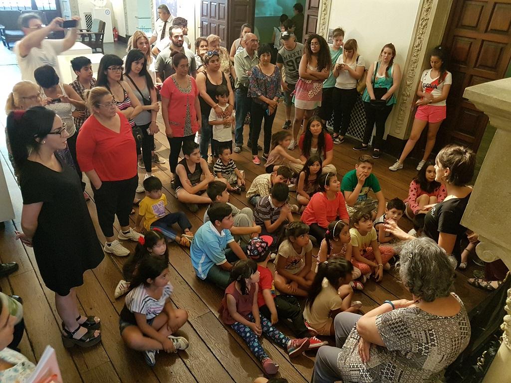 El Museo Evita en familia