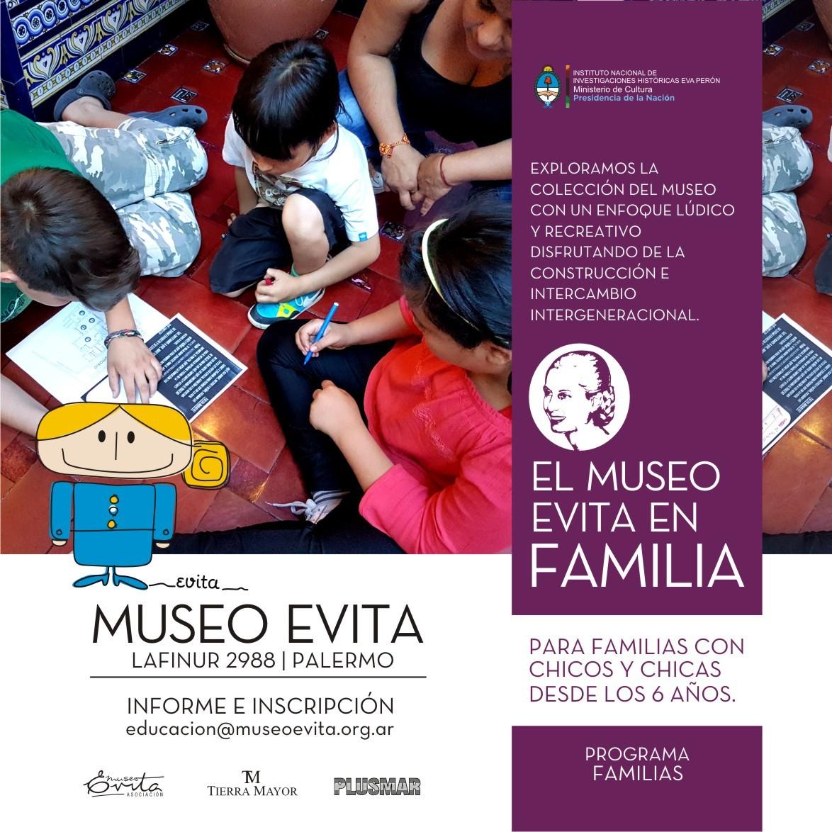 """Visita-taller """"El Museo en familia"""""""