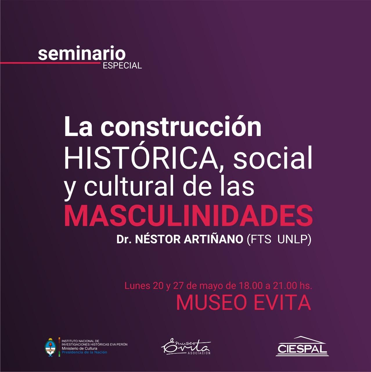 Seminario especial: La construcción histórica, social y cultural de las masculinidades