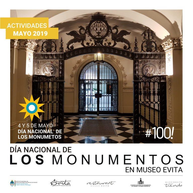 Actividades por el Día Nacional de los Monumentos.