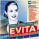 "Primer Concurso Juvenil ""100 Años Evita"" – PJ TIGRE"