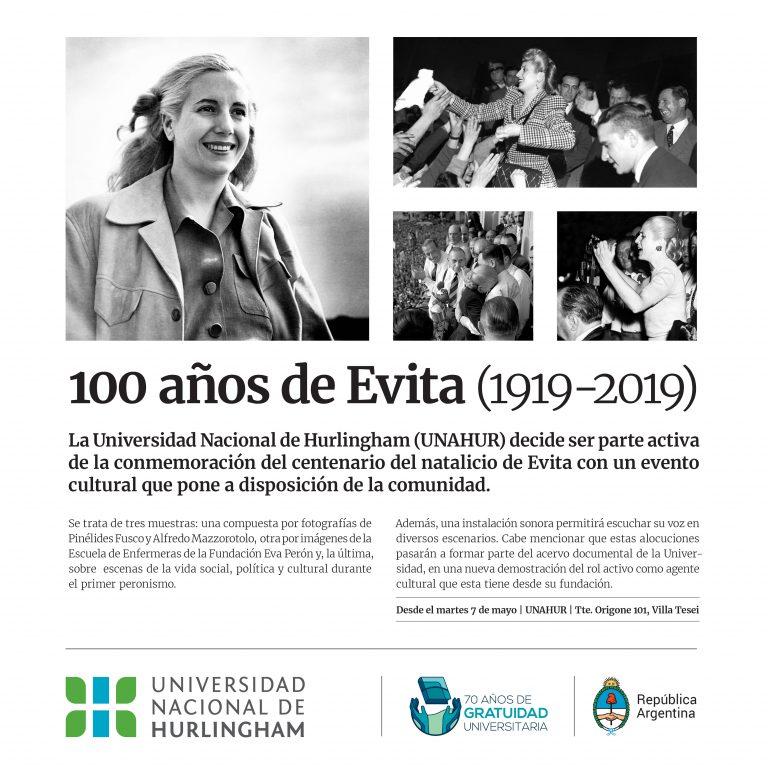 100 años de Evita en la UNAHUR