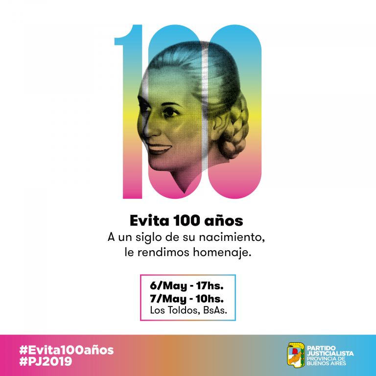 Read more about the article #Evita100Años