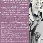 Read more about the article 100° aniversario del nacimiento de nuestra eterna y amada Eva