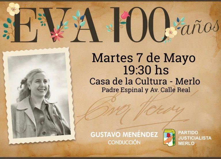 EVITA 100 años 🌹